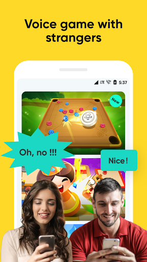 Voga - Play games and voice chat with new friends. screenshot 1