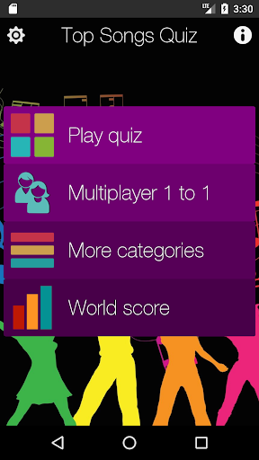 Top Songs Quiz screenshot 1