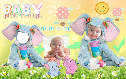 Cute Baby Photo Montage App 👶 Costume for Kids screenshot 12