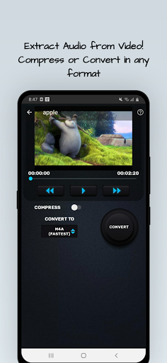 MP4, MP3 Video Audio Cutter, Trimmer & Converter screenshot 6