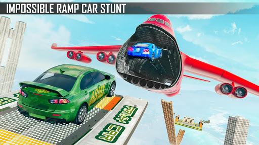 Mega Ramp Car Stunts 3D screenshot 13