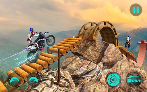New Bike Stunts Game: Impossible Bike Stunts screenshot 2