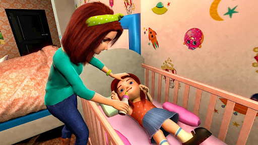 Virtual Mother Game screenshot 1