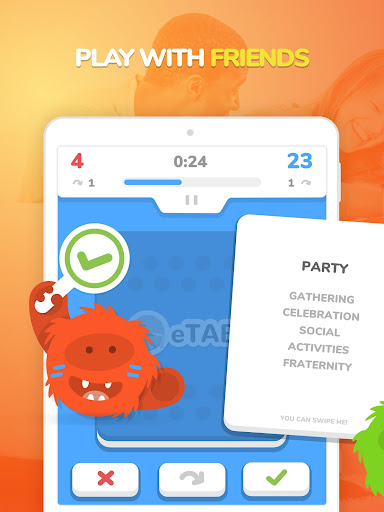 eTABU - Social Game - Party with taboo cards! screenshot 5