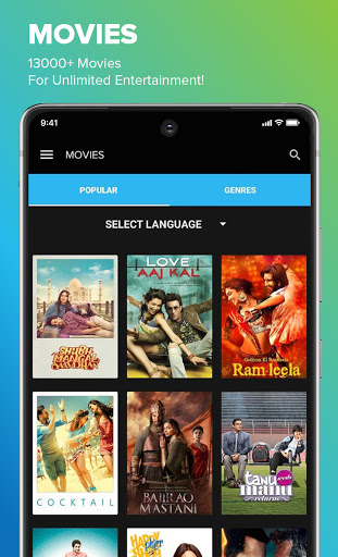 Eros Now for Android TV screenshot 2