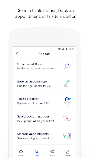 Oscar Health screenshot 2