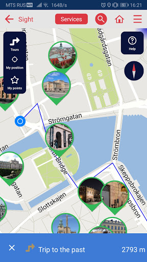Stockholm city guide screenshot 3