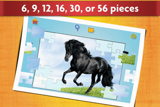 Horse Jigsaw Puzzles Game - For Kids & Adults 🐴 screenshot 8