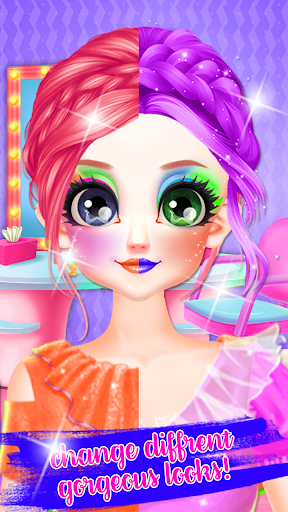 Little Princess Bella Girl Braid Hair Beauty Salon screenshot 7