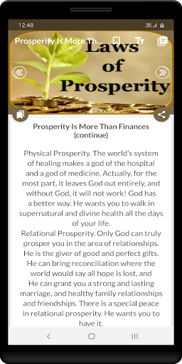 Laws of prosperity screenshot 4