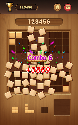 Wood Block Sudoku Game -Classic Free Brain Puzzle screenshot 23