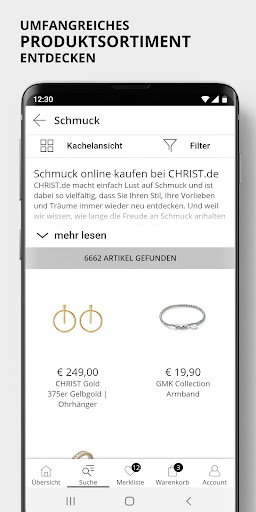 CHRIST - Uhren & Schmuck screenshot 1