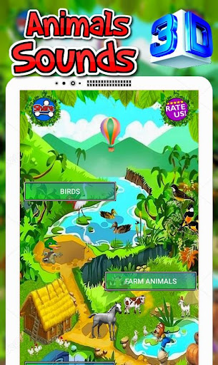 Animals Sounds For Kids (Animated) screenshot 1