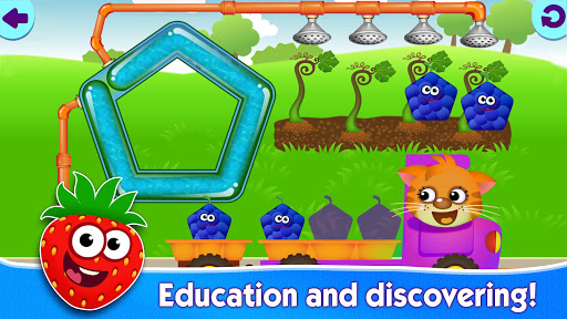 Funny Food educational games for kids toddlers 屏幕截图 8