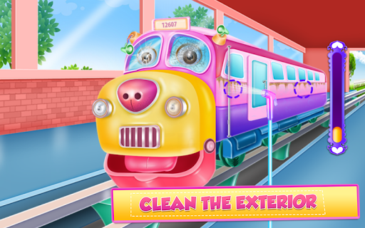 Train Cleaning and Fixing screenshot 12