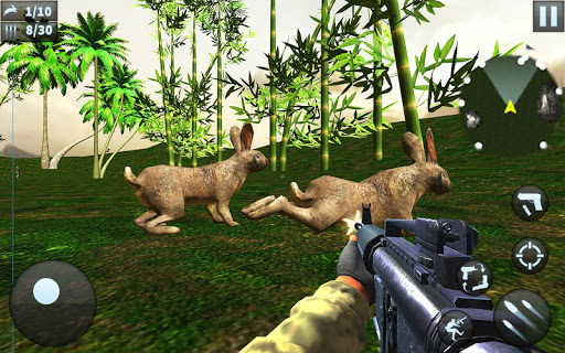 Rabbit Hunting Challenge - Sniper Shooting Games screenshot 3