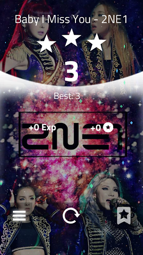 2 NE 1 Magic Tiles 3-KPOP Music Tiles screenshot 2