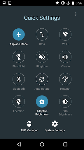 Quick Settings for Android screenshot 4