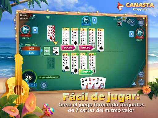 Canasta ZingPlay screenshot 3