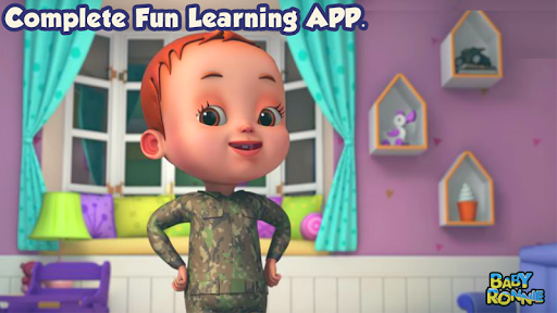Baby Ronnie Rhymes - Nursery & Kids Learning Songs screenshot 8