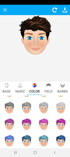 Avatarly: crear avatar emoji para Wastickerapps screenshot 7