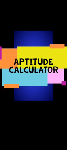 Aptitude Calculator screenshot 1