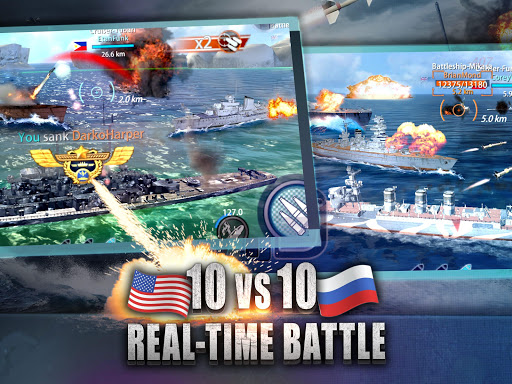 Warship Rising - 10 vs 10 Real-Time Esport Battle screenshot 14