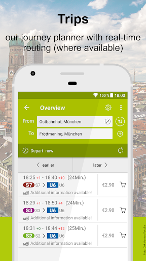 MVV-App screenshot 2