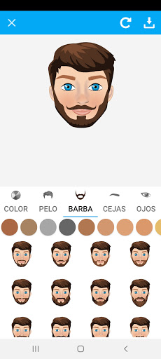 Avatarly: crear avatar emoji para Wastickerapps screenshot 9