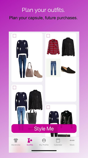 Pureple Outfit Planner screenshot 2