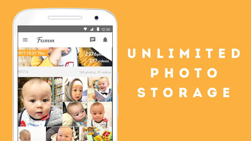 Famm - photo & video storage for baby and kids. screenshot 10