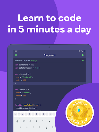 Mimo: Learn coding in JavaScript, Python and HTML screenshot 8