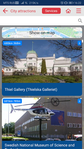 Stockholm city guide screenshot 5