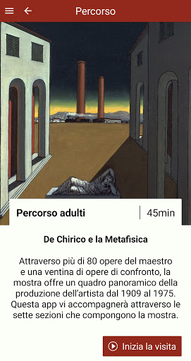 De Chirico e la Metafisica screenshot 2