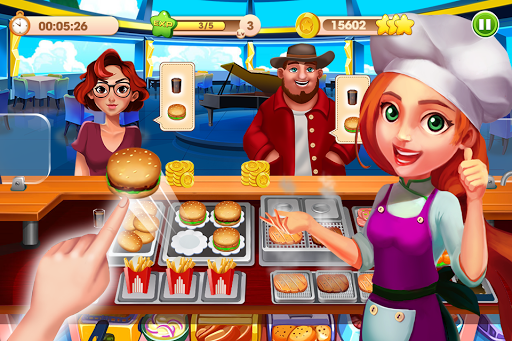 Cooking Talent - Restaurant manager - Chef game screenshot 1