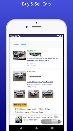 Canada buy and sell, Real Estate, Autos and jobs screenshot 2