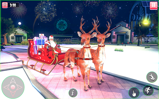 Santa Claus Christmas Fun Gift Delivery screenshot 1