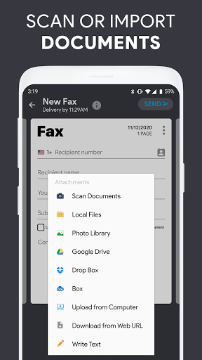 iFax - Send fax from phone, receive fax for free screenshot 5