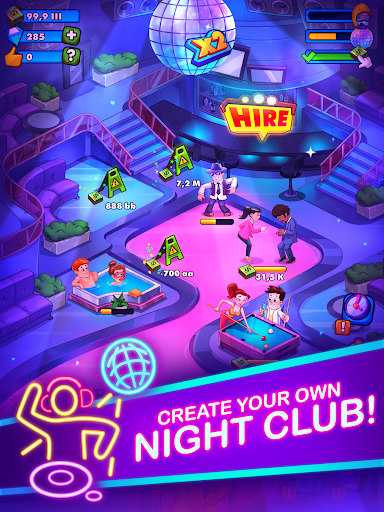 Party Clicker — Idle Nightclub Game screenshot 11
