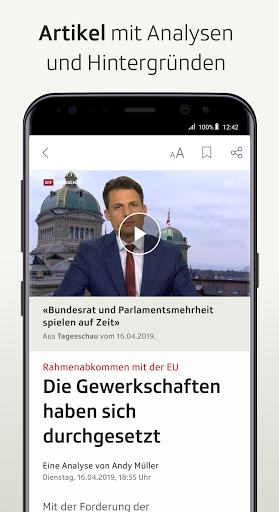 SRF News - Nachrichten, Videos und Livestreams screenshot 4