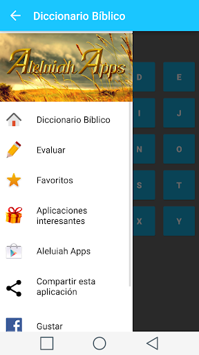 Spanish Bible Dictionary screenshot 2