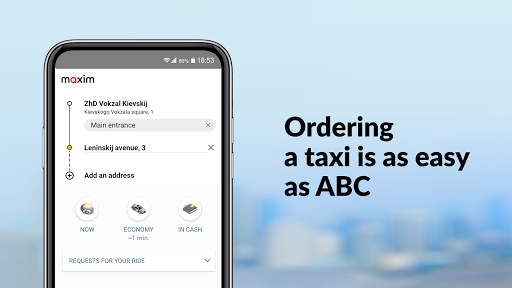 maxim — order taxi, food and groceries delivery screenshot 2