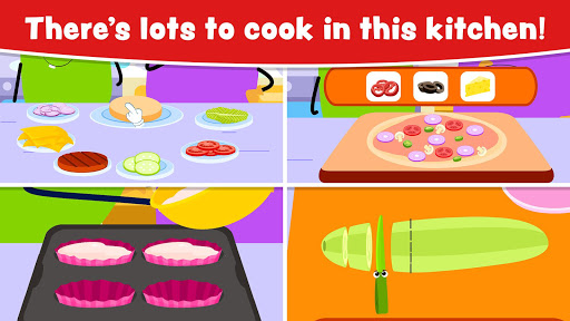 Cooking Games for Kids and Toddlers - Free screenshot 2