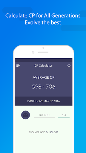 Evolution CP & IV Calculator, Raids and more. screenshot 1