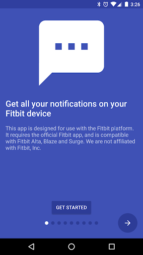 Fit Notifications (for Fitbit) screenshot 1