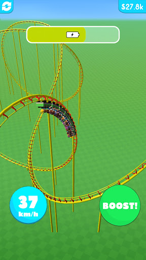 Hyper Roller Coaster screenshot 5