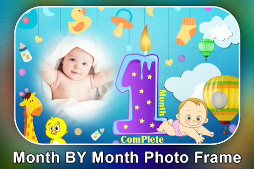Baby Month Complete Photo Frame screenshot 3