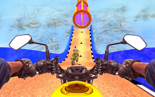 New Bike Stunts Game: Impossible Bike Stunts screenshot 24