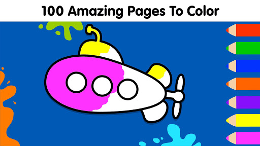 Coloring Games for Kids: Baby Drawing Book & Pages screenshot 6