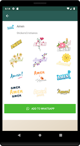 Stickers Cristianos screenshot 4